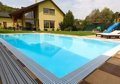 Overflow Swimming Pool Design Adorable Bleu Pools And Spa  Swimming Pool Designs Design Inspiration